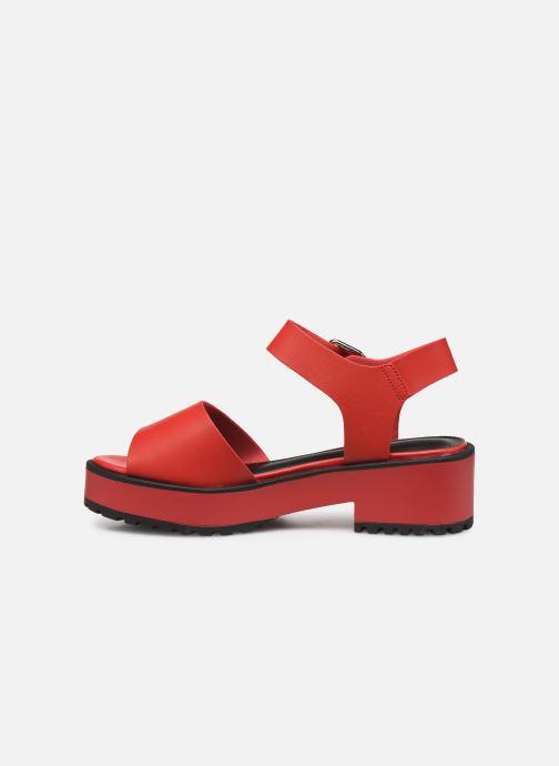 Sandales et nu-pieds MTNG 50684 Rouge vue face