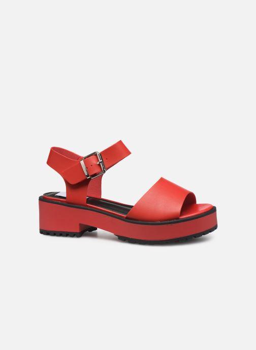 Sandales et nu-pieds MTNG 50684 Rouge vue derrière