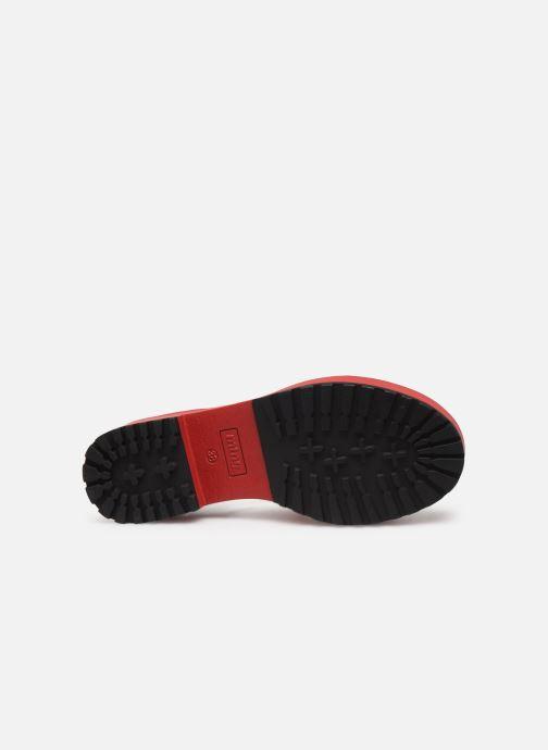 Sandales et nu-pieds MTNG 50684 Rouge vue haut