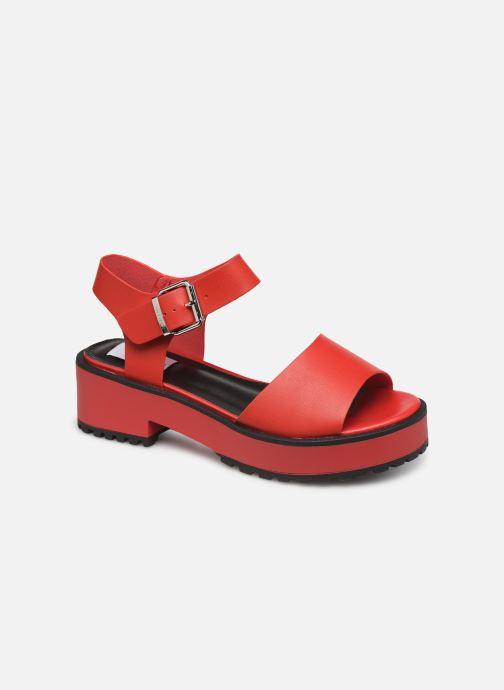 Sandales et nu-pieds MTNG 50684 Rouge vue détail/paire