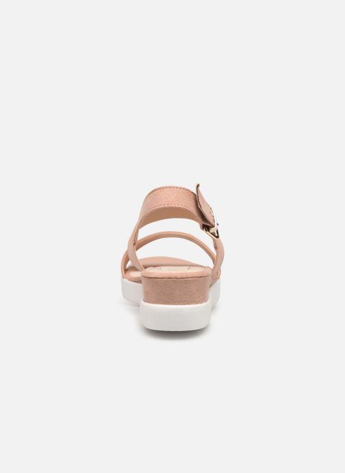 Sandali e scarpe aperte MTNG 51071 Rosa immagine destra