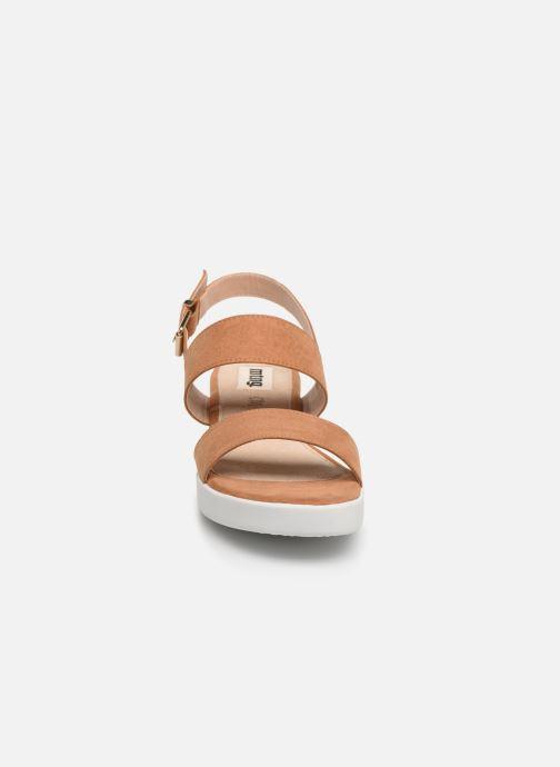 Sandales et nu-pieds MTNG 51071 Marron vue portées chaussures