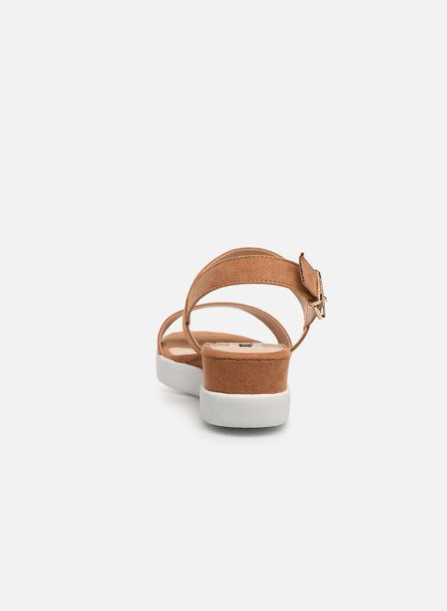 Sandales et nu-pieds MTNG 51071 Marron vue droite
