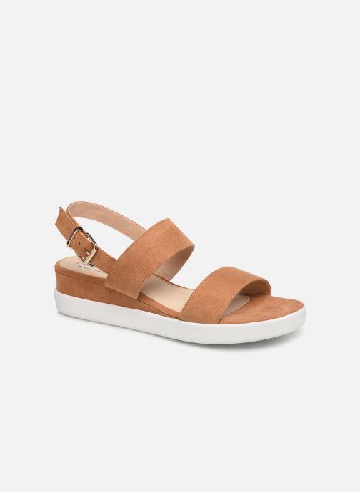 Sandales et nu-pieds MTNG 51071 Marron vue détail/paire