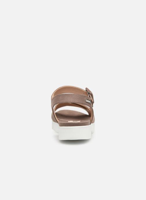 Sandalen MTNG 51086 braun ansicht von rechts