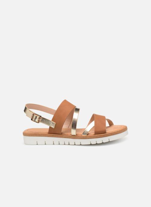 Sandales et nu-pieds MTNG 51089 Marron vue derrière