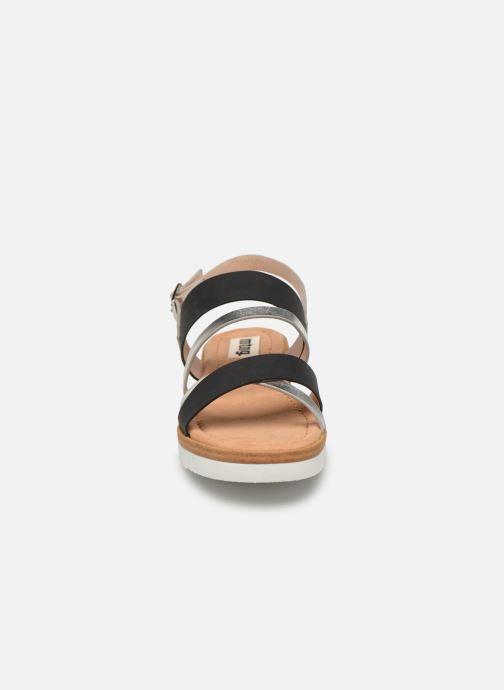 Sandales et nu-pieds MTNG 51089 Noir vue portées chaussures