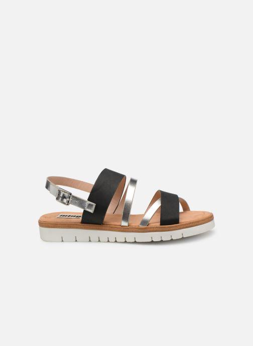 Sandales et nu-pieds MTNG 51089 Noir vue derrière