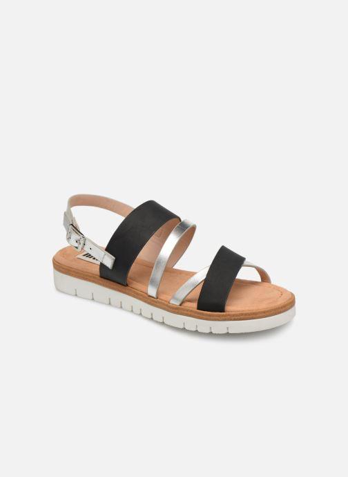 Sandales et nu-pieds MTNG 51089 Noir vue détail/paire