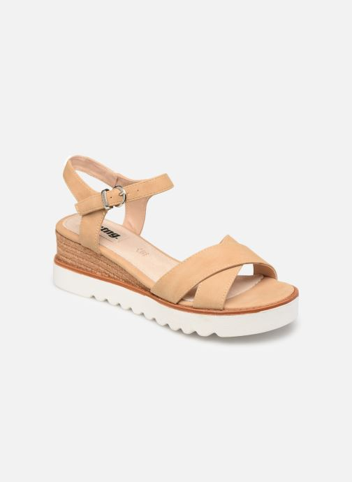 Sandals MTNG 51091 Beige detailed view/ Pair view