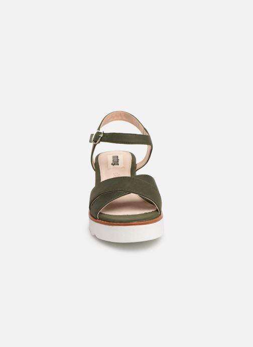 Sandales et nu-pieds MTNG 51091 Vert vue portées chaussures
