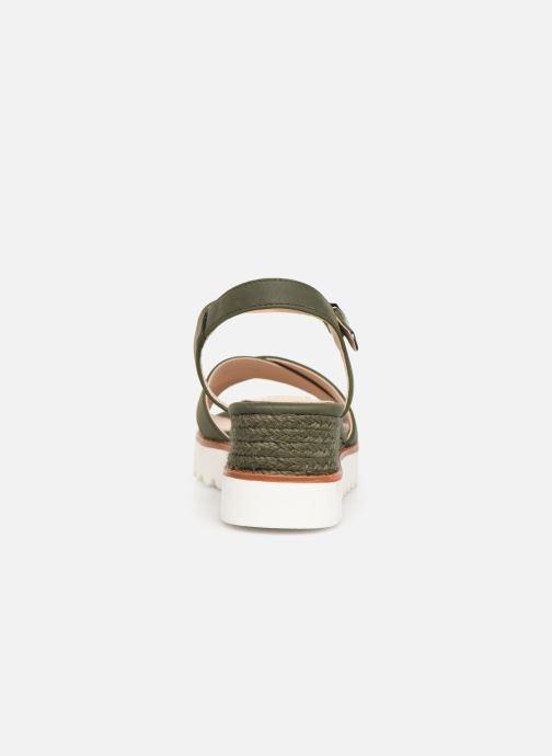 Sandales et nu-pieds MTNG 51091 Vert vue droite