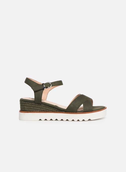 Sandales et nu-pieds MTNG 51091 Vert vue derrière