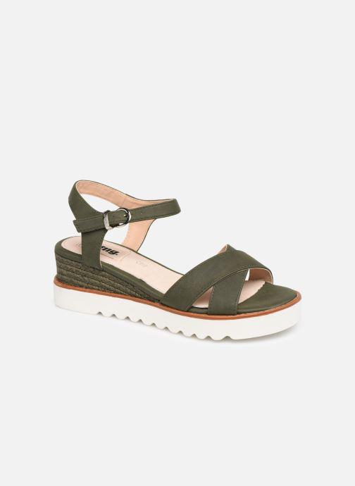 Sandales et nu-pieds MTNG 51091 Vert vue détail/paire