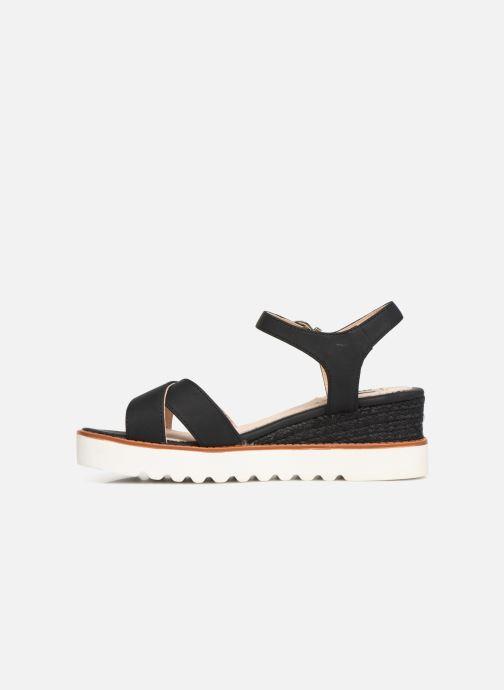 Sandales et nu-pieds MTNG 51091 Noir vue face