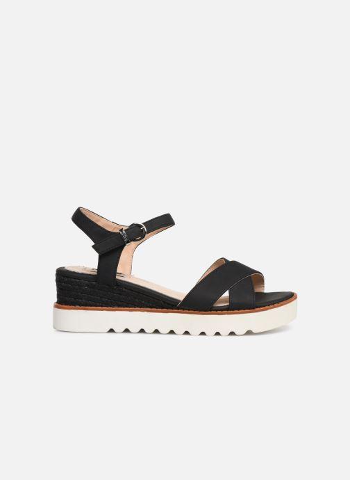 Sandales et nu-pieds MTNG 51091 Noir vue derrière