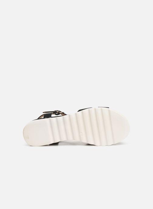 Sandales et nu-pieds MTNG 51091 Noir vue haut