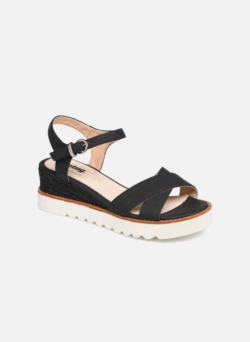 Sandales et nu-pieds MTNG 51091 Noir vue détail/paire