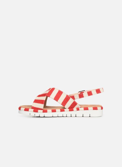 Sandales et nu-pieds MTNG 51093 Rouge vue face