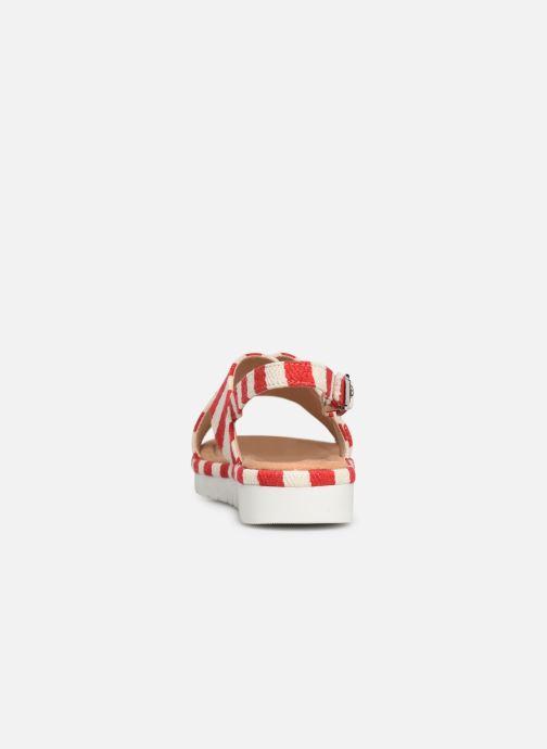 Sandales et nu-pieds MTNG 51093 Rouge vue droite