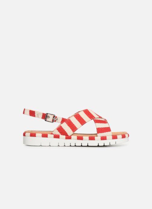 Sandales et nu-pieds MTNG 51093 Rouge vue derrière