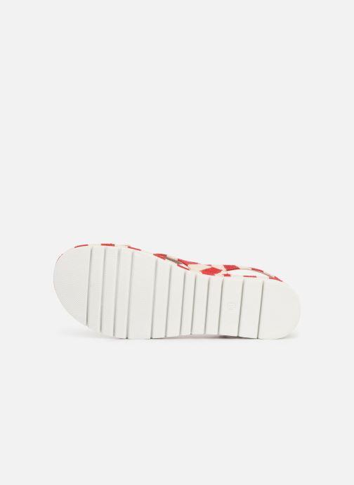 Sandales et nu-pieds MTNG 51093 Rouge vue haut