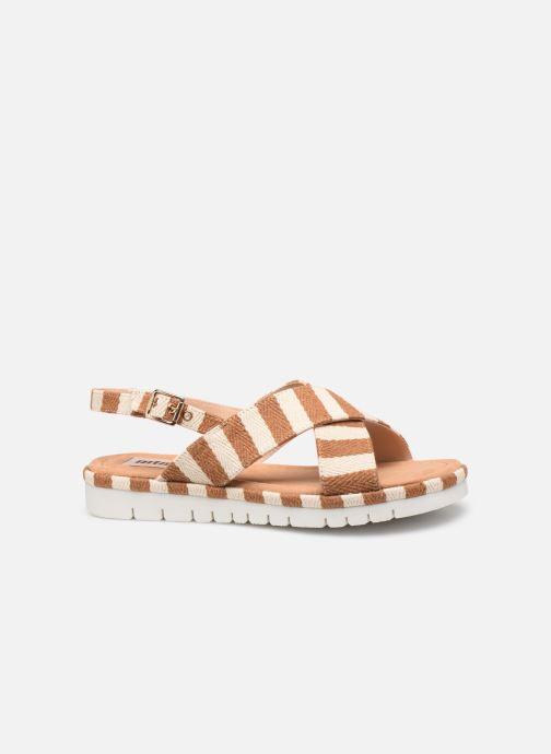 Sandales et nu-pieds MTNG 51093 Marron vue derrière