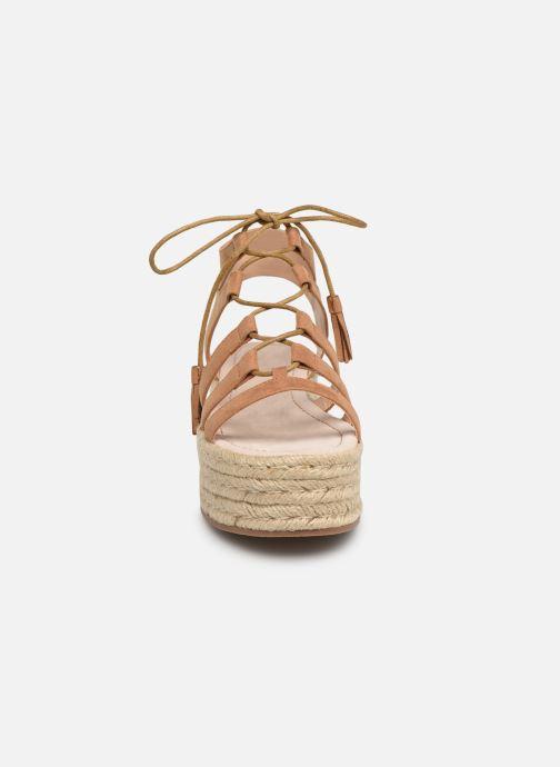 Espadrilles MTNG 51096 Marron vue portées chaussures