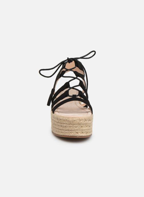 Scarpe di corda MTNG 51096 Nero modello indossato