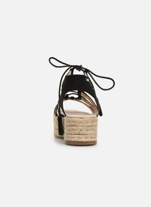 Espadrilles MTNG 51096 Black view from the right