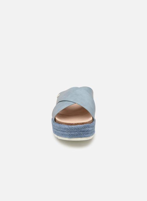 Mules et sabots MTNG 57486 Bleu vue portées chaussures