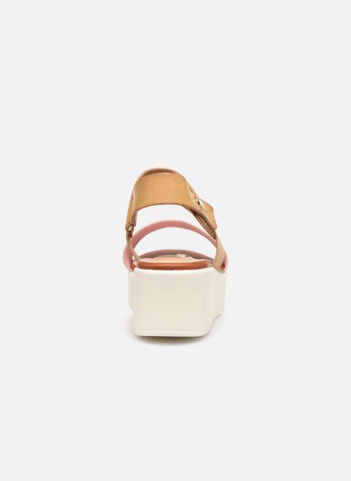Sandales et nu-pieds MTNG 57564 Marron vue droite
