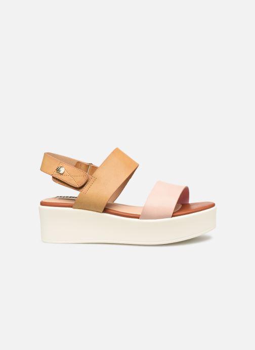 Sandales et nu-pieds MTNG 57564 Marron vue derrière