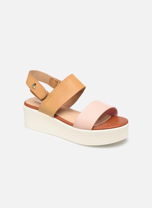 Sandales et nu-pieds MTNG 57564 Marron vue détail/paire