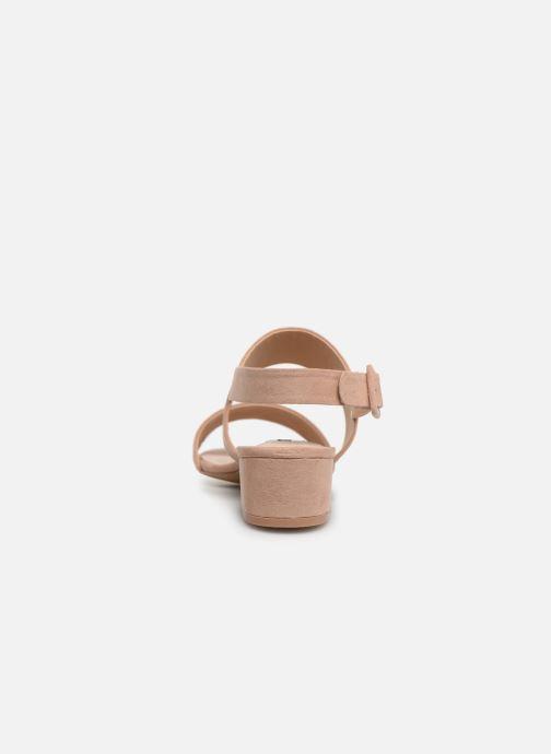 Sandali e scarpe aperte MTNG 57932 Beige immagine destra