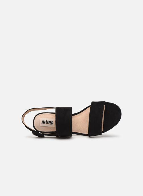 Sandales et nu-pieds MTNG 57932 Noir vue gauche