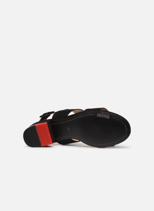 Sandales et nu-pieds MTNG 57932 Noir vue haut