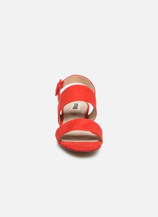 Sandales et nu-pieds MTNG 57932 Rouge vue portées chaussures