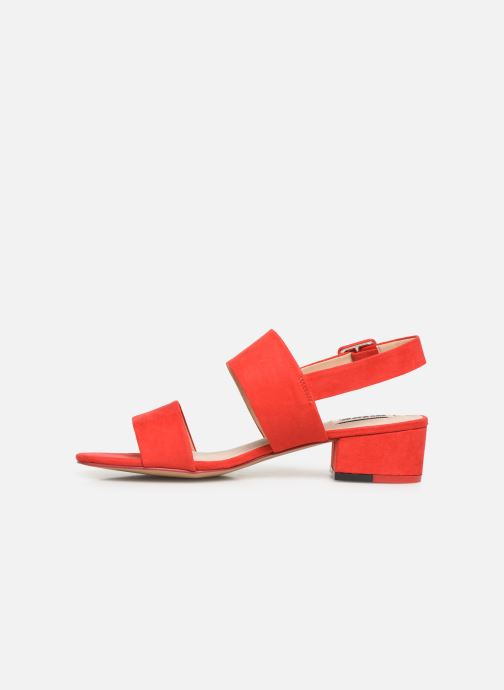 Sandales et nu-pieds MTNG 57932 Rouge vue face