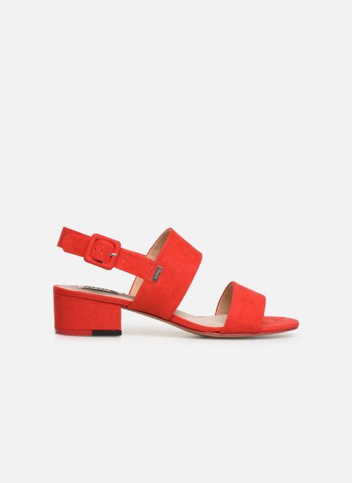 Sandales et nu-pieds MTNG 57932 Rouge vue derrière