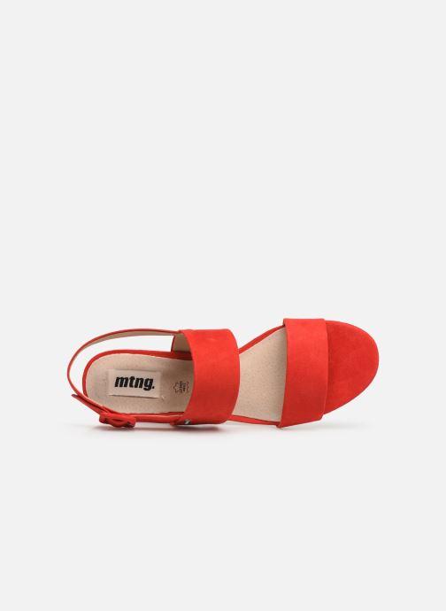 Sandales et nu-pieds MTNG 57932 Rouge vue gauche