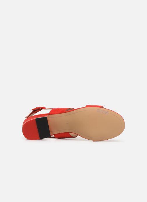 Sandales et nu-pieds MTNG 57932 Rouge vue haut