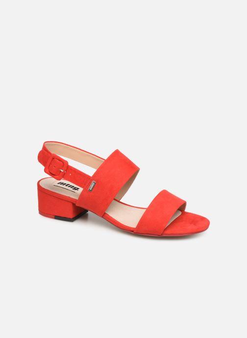 Sandales et nu-pieds MTNG 57932 Rouge vue détail/paire