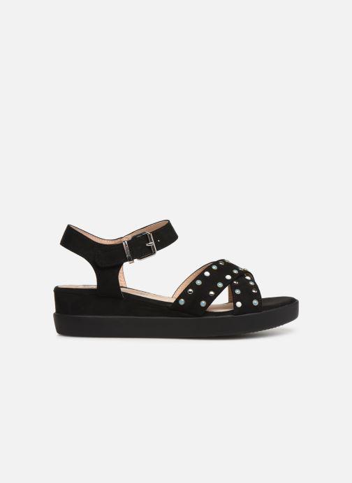 Sandales et nu-pieds MTNG 57940 Noir vue derrière