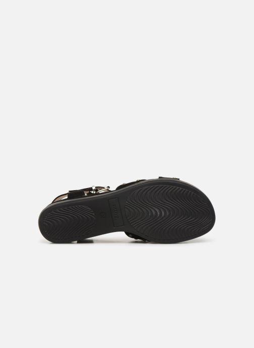 Sandales et nu-pieds MTNG 57940 Noir vue haut