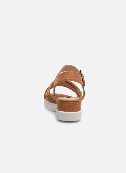 Sandali e scarpe aperte MTNG 57940 Marrone immagine destra