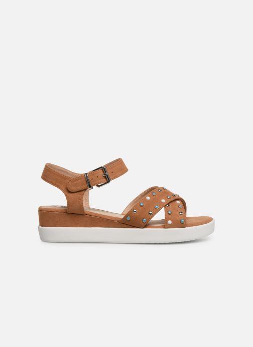 Sandales et nu-pieds MTNG 57940 Marron vue derrière
