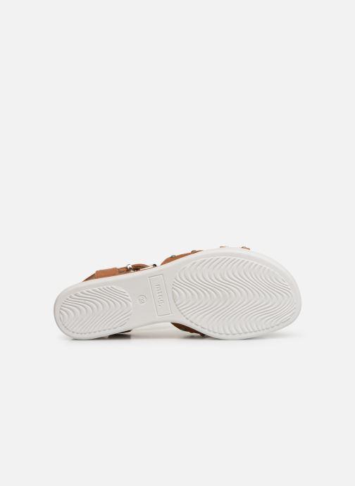 Sandales et nu-pieds MTNG 57940 Marron vue haut