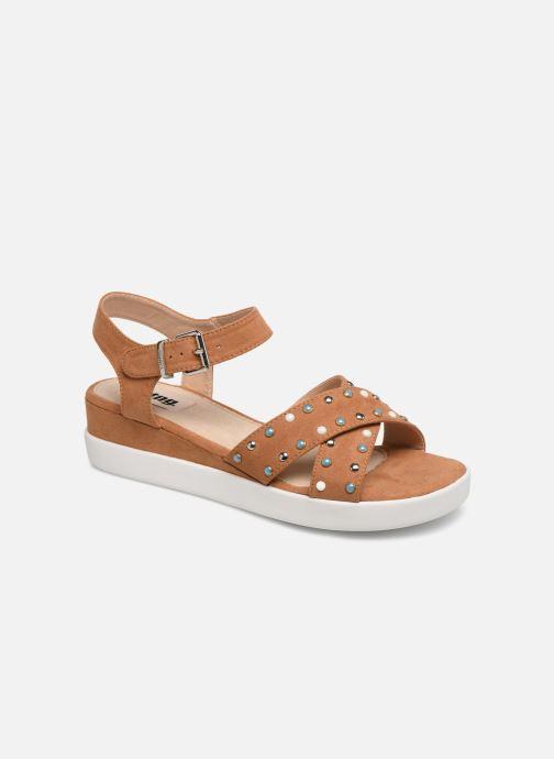 Sandales et nu-pieds MTNG 57940 Marron vue détail/paire