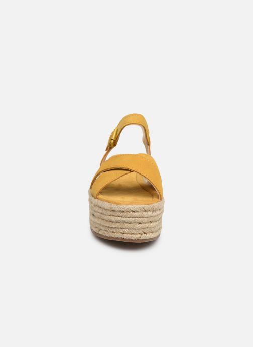 Espadrilles MTNG 58199 Jaune vue portées chaussures